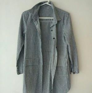 Checker Button Down Shirt
